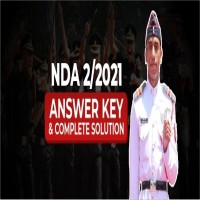 NDA 2 Answer Key 2021 of all sets by Major Kalshi Classes